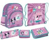 Zestaw szkolny Littlest Pet Shop II model 2013/14 - 6 elementów