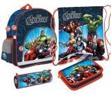 Zestaw szkolny Avengers