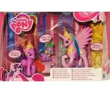 My Little Pony - Przyjaciółki na zawsze Celestia + Twilight Sparkle + Spike