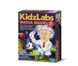 Magia Nauki - 20 zabawnych sztuczek naukowych KidzLabz 00-03265