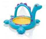 Basen dmuchany Dino z fontanną 229x165x117 cm. Intex 57437