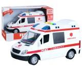 Ambulans karetka ze światłem i dźwiękiem