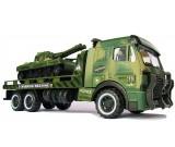 Ciężarówka Army Force z czołgiem