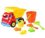 Ciężarówka wywrotka do piasku z akcesoriami