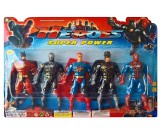 Avengers - zestaw figurek Heroes LED 5 szt. - 16 cm.