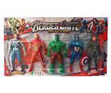 Avengers - zestaw figurek LED 5 szt. - 16 cm.