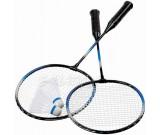 Badminton - paletki i 5 lotek