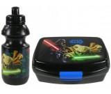 Zestaw śniadaniowy Star Wars (bidon + śniadaniówka) Yoda Vader