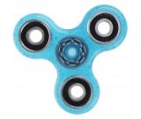 Spinner Fidget - brokatowy niebieski