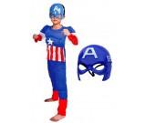 Kostium karnawałowy Avengers - Kapitan Ameryka z maską