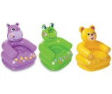 Dmuchany fotel: żabka, miś, hipopotam