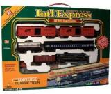 Kolejka elektryczna Int'l Express - lokomotywa + 5 wagonów