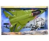 Samolot F-35 ze światłami i dźwiękami
