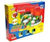 Ciastolina Farma + 4 tuby masy