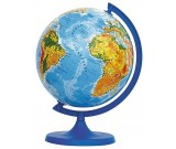 Globus fizyczny 16 cm.