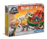 Jurassic World - Volcano Set 2w1 - wulkan i T-rex