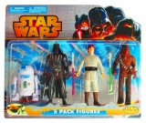 Star Wars Saga - zestaw figurek 4 sztuki
