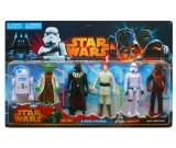 Star Wars Saga - zestaw figurek 6 sztuk