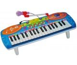 Keyboard pianinko z mikrofonem - 37 klawiszy 0610A