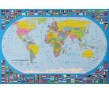 Podkład oklejany na biurko - Świat