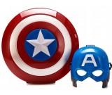 Kostium karnawałowy Kapitan Ameryka - tacza i maska