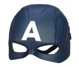Maska Avengers - Kapitan Ameryka świecąca led