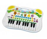 Keyboard pianinko ABC ze zwierzątkami