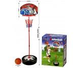 Koszykówka - tablica stojak piłka