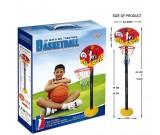 Koszykówka - tablica stojak piłka pompka