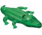 Dmuchany krokodyl z uchwytem 168x86 cm. Intex 58546
