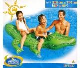 Dmuchany aligator z uchwytami 2 osobowy 58562