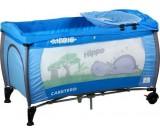 Łóżeczko turystyczne Medio Safari niebieskie