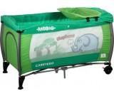 Łóżeczko turystyczne Medio Safari zielone