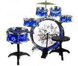 Perkusja akustyczna Big Band 28807 niebieska
