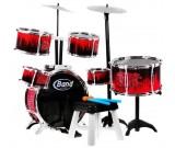 Perkusja akustyczna Band Jazz Drum - 6 bębnów i talerze