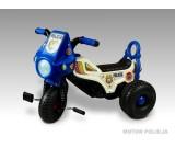 Motorek trójkołowy na pedały - policja