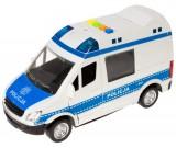 Policja radiowóz ze światłem i dźwiękiem PL