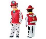 Kostium karnawałowy Paw Patrol - Psi Patrol Marshall strażak