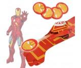 Wyrzutnia dysków - Iron Man strzelająca rękawica