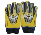 Bramkarskie rękawice Max żółte