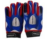 Bramkarskie rękawice Max niebieskie