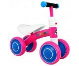 Rowerek czterokołowy biegowy jeździk Sport Trike - różowy