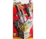 Kostium karnawałowy Rycerz z mieczami - zestaw akcesoriów