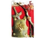 Kostium karnawałowy Rycerz z łukiem - zestaw akcesoriów
