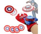 Wyrzutnia dysków - Kapitan Ameryka strzelająca rękawica
