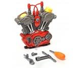Silnik spalinowy do składania z narzędziami