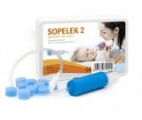 Aspirator Sopelek 2 - odciągacz kataru + 10 filtrów