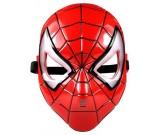 Maska Avengers - Spiderman świecąca led
