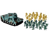 Żołnierze - 2 armie + czołg