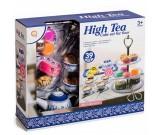 Ekskluzywny zestaw kawowy ze słodyczami - High Tea